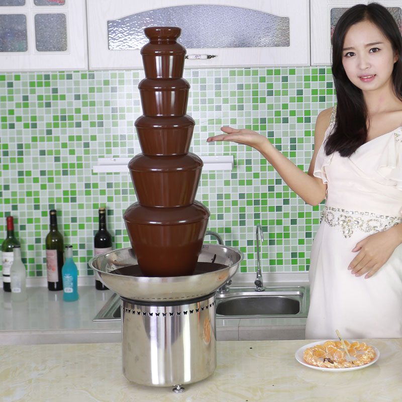 Cf33a 6 Tiers Commercial Chocolate Fountain Cfo Brand
