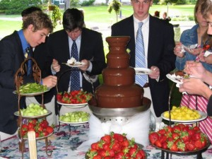 cfo chocolate fountain