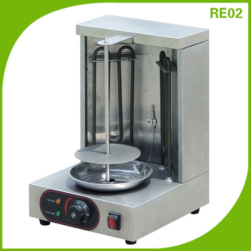 Electric Mini Doner Kebab maker Shawarma making machine RE02