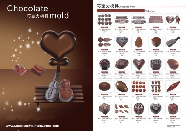 Chocolate Molds 7-8
