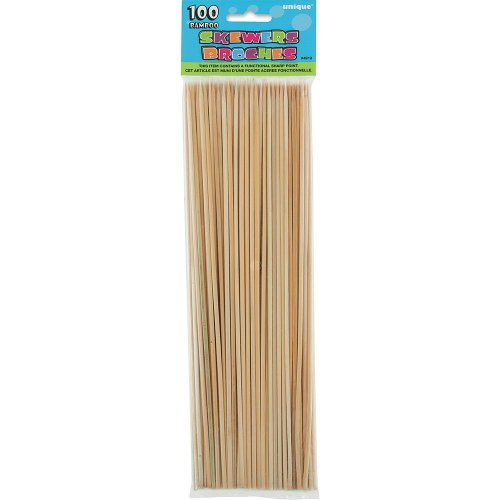 Bamboo Skewers for chocolate fountain dipping