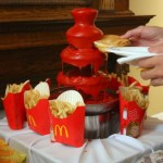Ketchup fountain