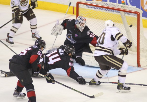 Questionable Late Call Gives Lake Erie Game Two of Calder ...