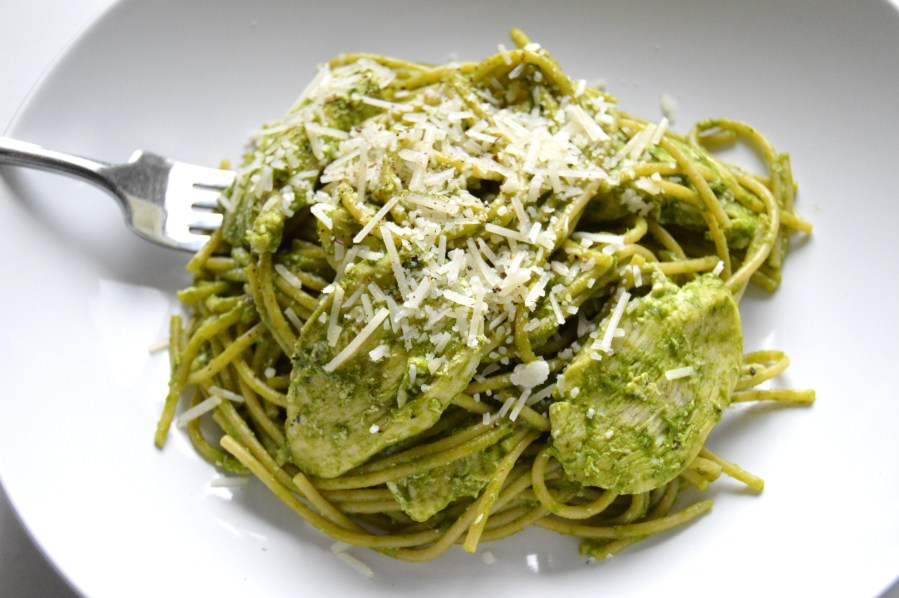 Lemon Spinach Pesto Chicken