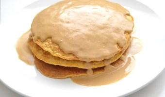 Sweet Potato Oat Pancakes