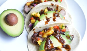 Ginger Chipotle Steak Tacos