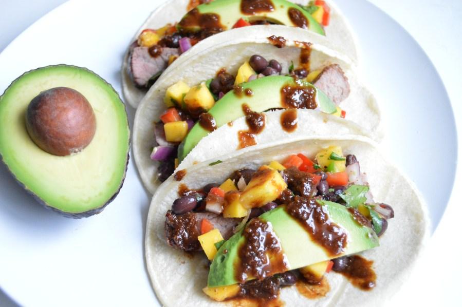 Ginger Chipotle Steak Tacos
