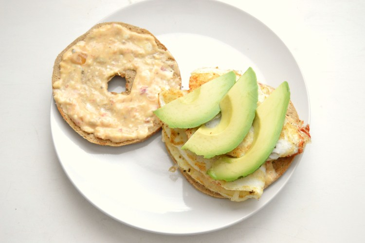 Sweet and Spicy Breakfast Sandwich
