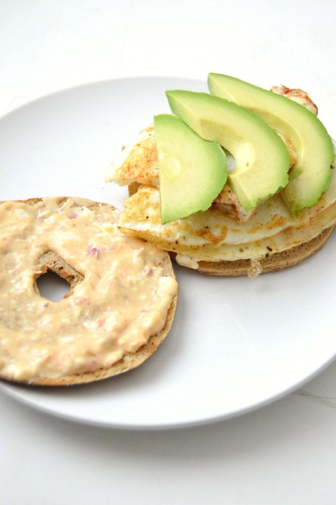 Sweet and Spicy Breakfast Sandwich