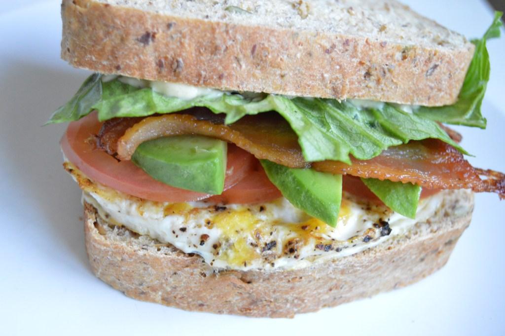 Breakfast Avocado BLT