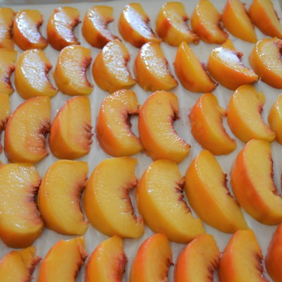 Freeze Your Peaches!
