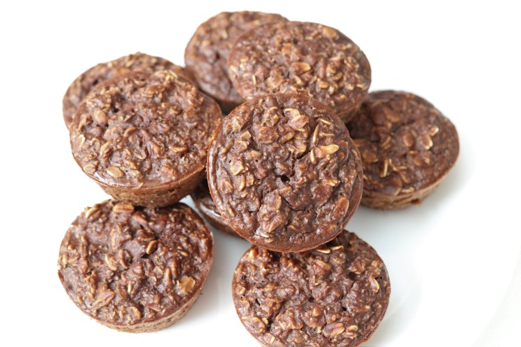 High Protein Chocolate Oat Cups