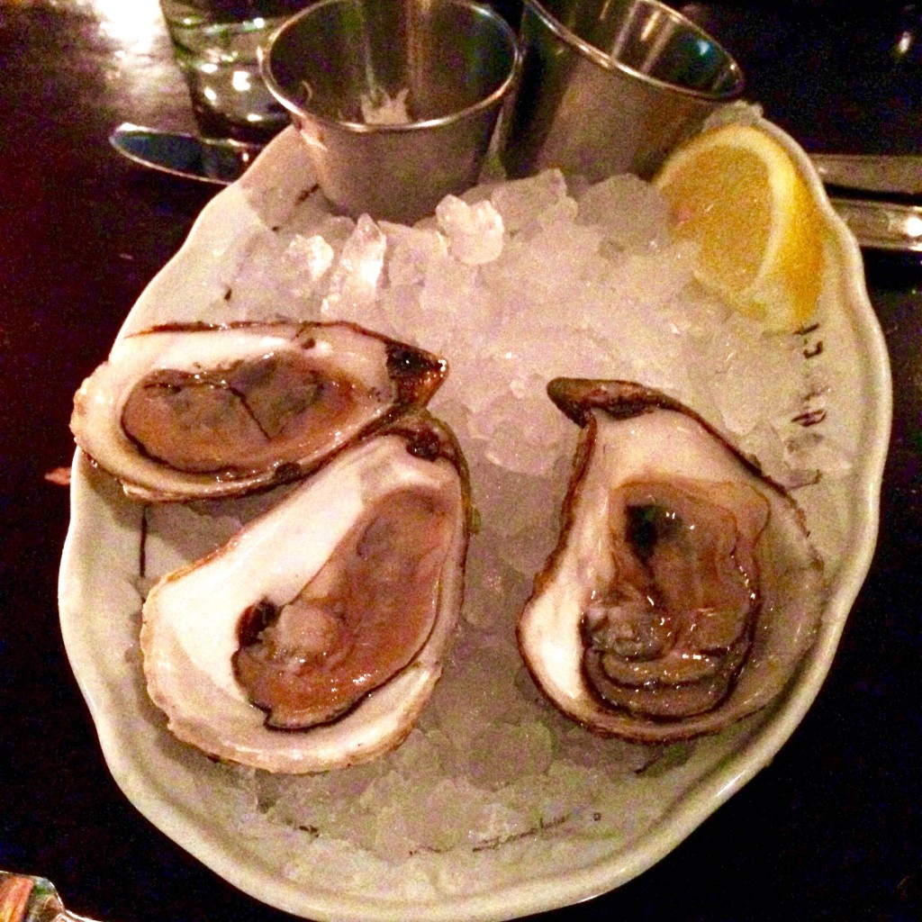 La Societe, Three Oysters, restaurant review