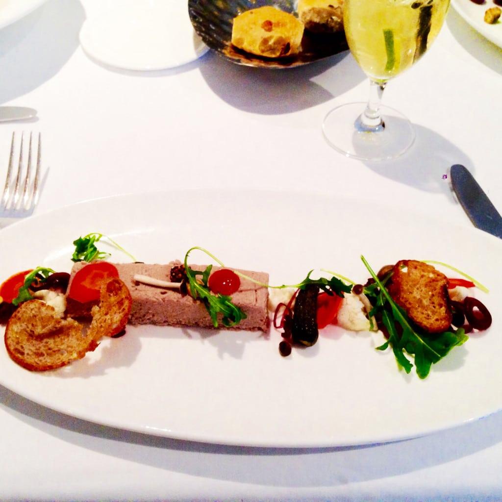 pork terrine, pork, terrine, auberge du pommier, toronto, canada, winterlicious, restaurant, restaurant review