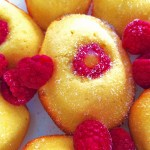 lemon, raspberry, madeleines, lemon madeleines, raspberry madeleines, lemon-raspberry madeleines, madelines,baking, french pastry, recipe, recipes,