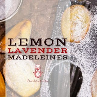 Lemon Lavender Madeleines | Chocolates & Chai | Recipes