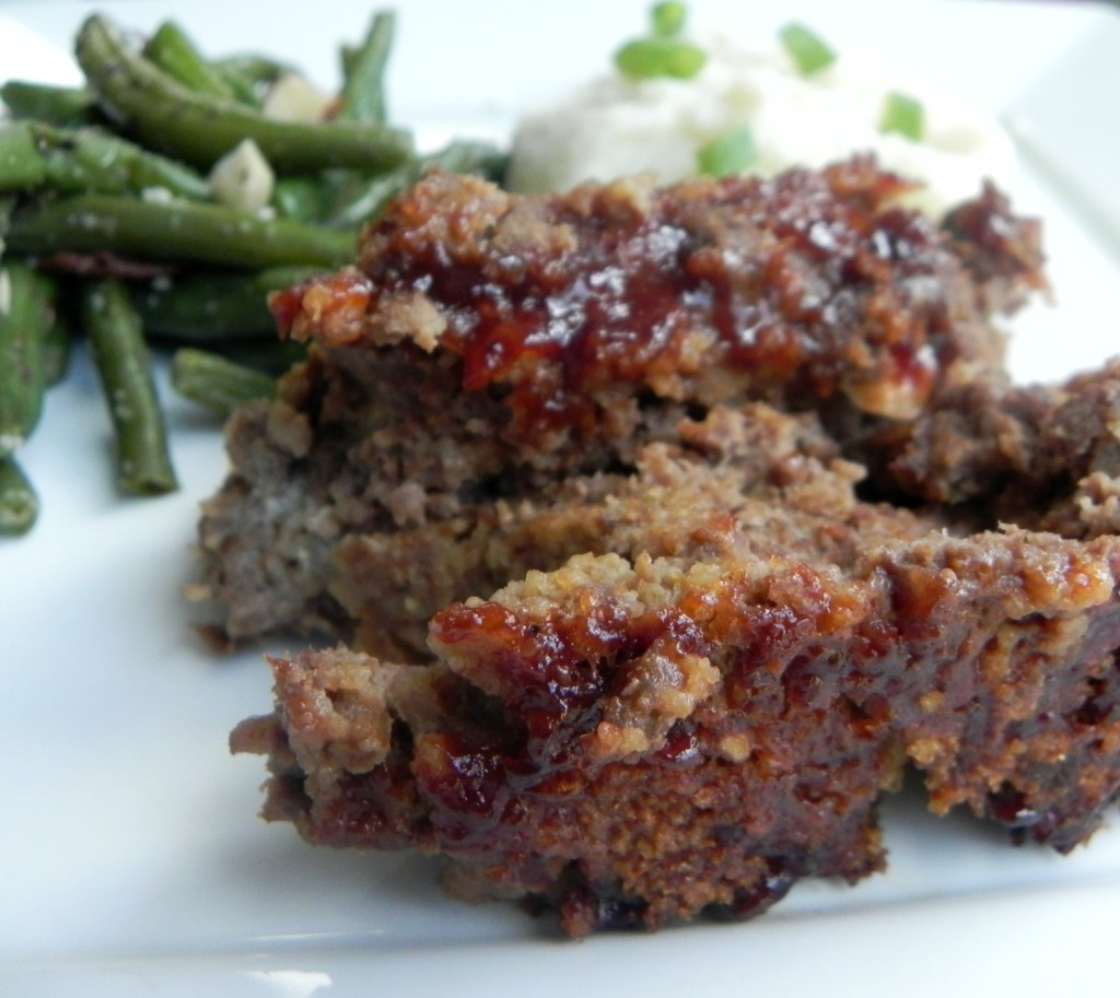 Honey Barbecue Meatloaf {And Ground Beef Nutrition Comparison}