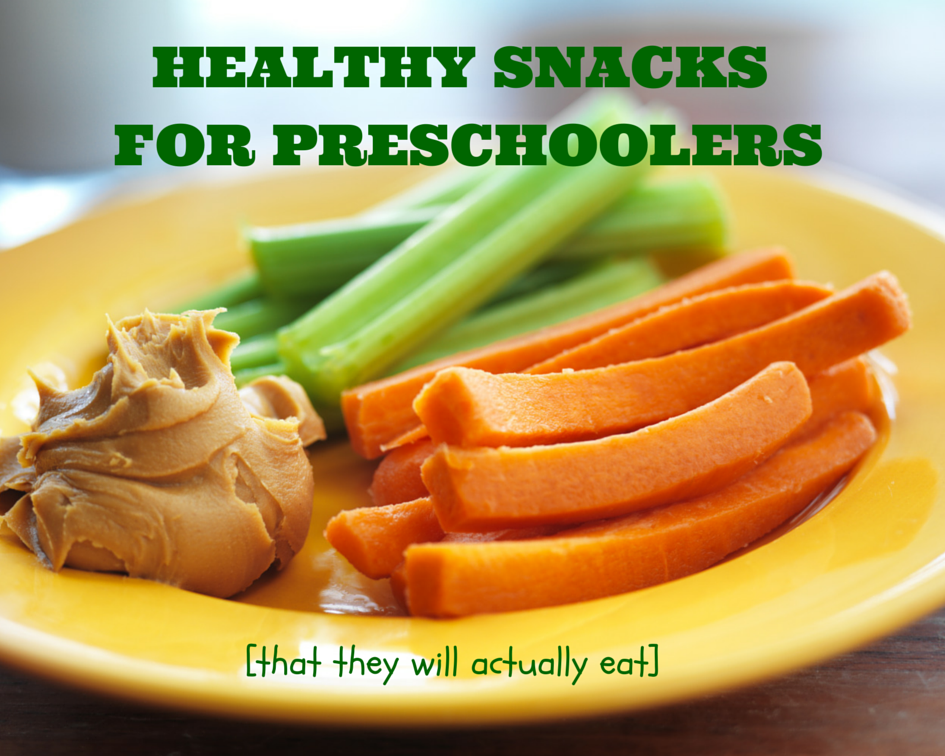 Healthy Snacks for Preschoolers {That They Will Actually Eat}