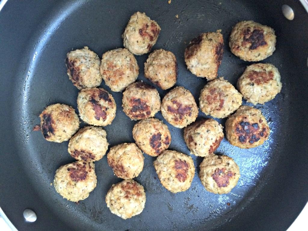 Simple Turkey Meatballs