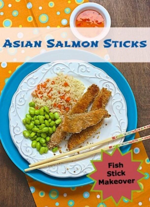 Asian Salmon Sticks Janice Bissex and Liz Weiss