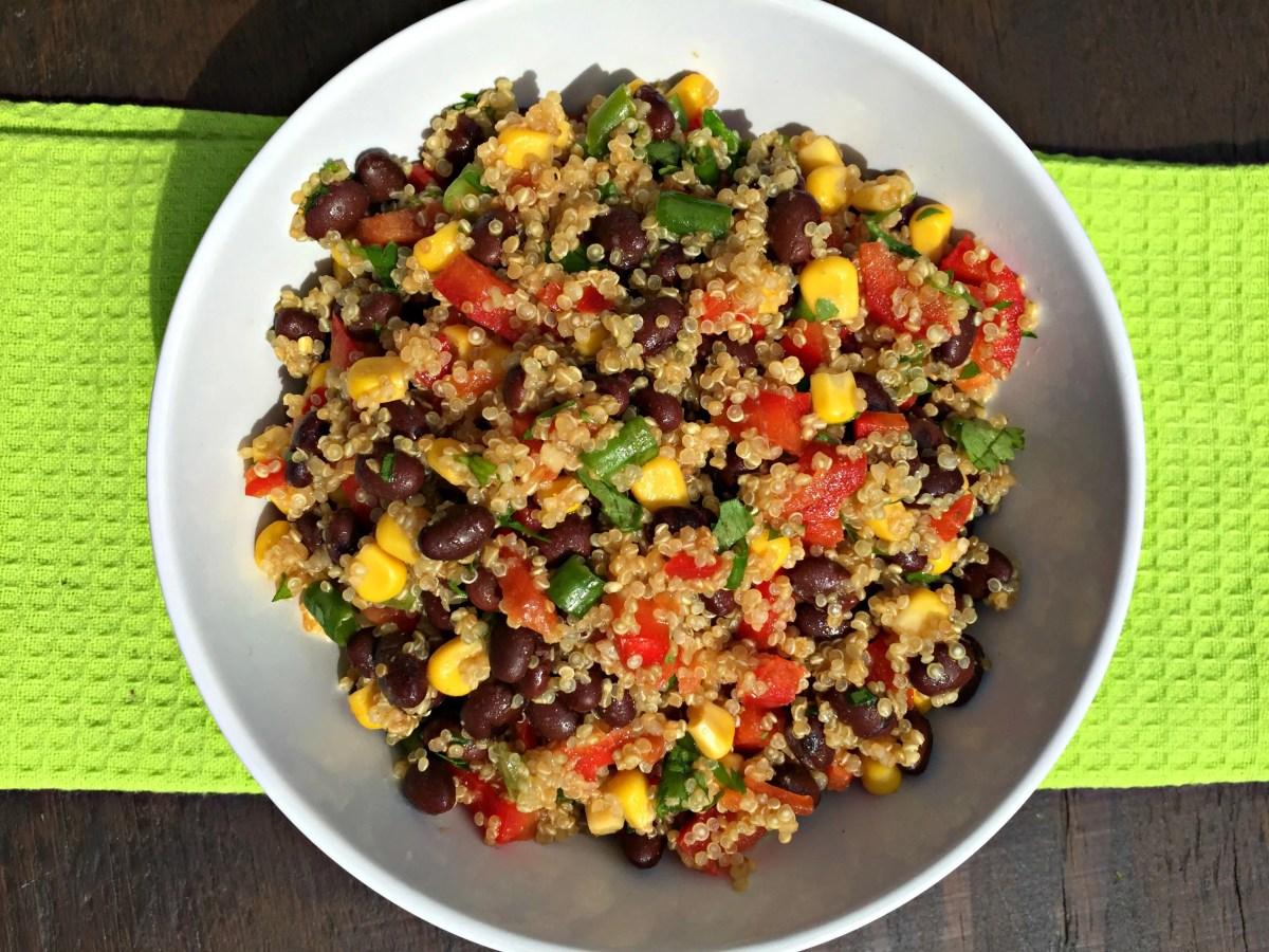 Southwest Quinoa Salad {vegan}