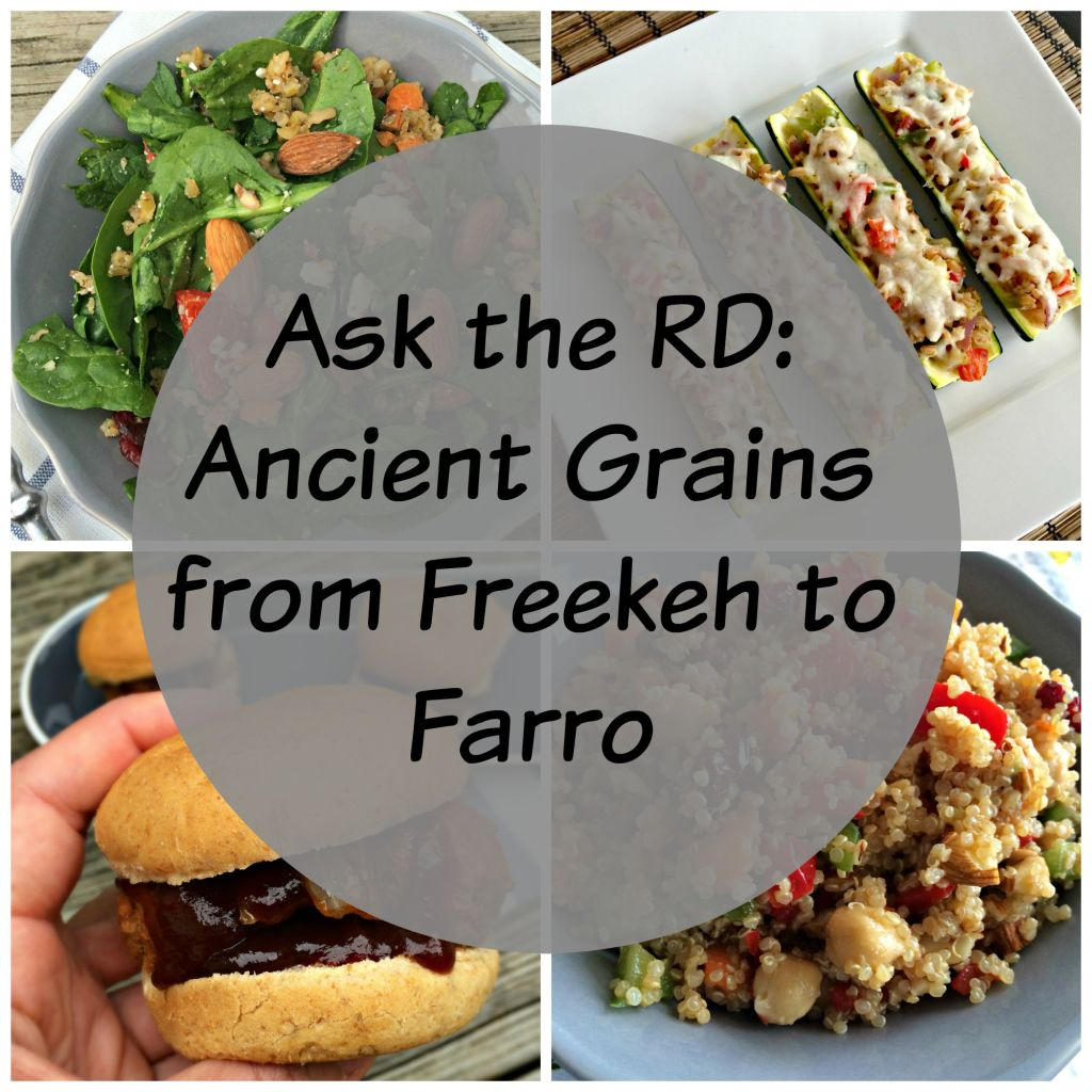 Ask the rd ancient grains