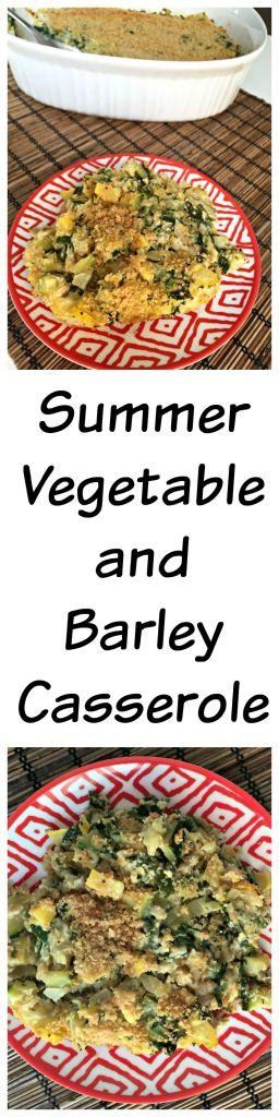 Summer Vegetable and Barley Casserole