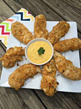 baked honey mustard chicken tenders3