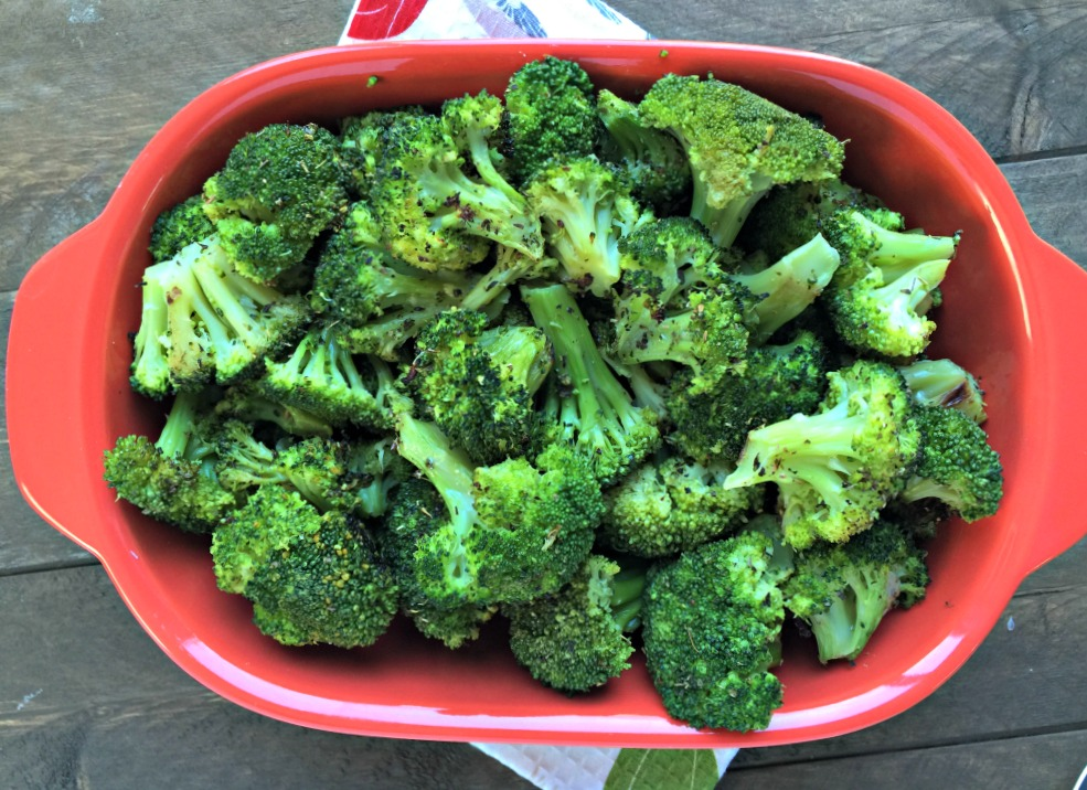 Simple Roasted Broccoli
