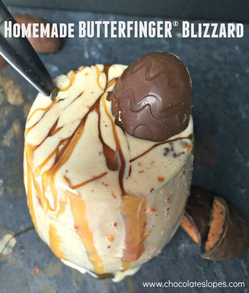 Homemade BUTTERFINGER® Blizzard