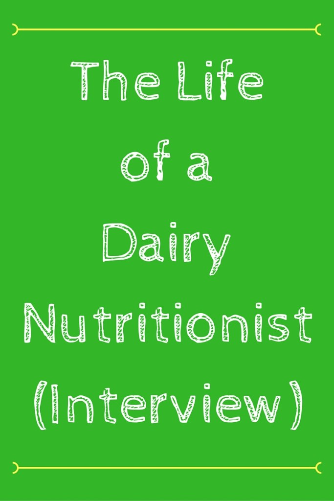 The Life of a Dairy Nutritionist