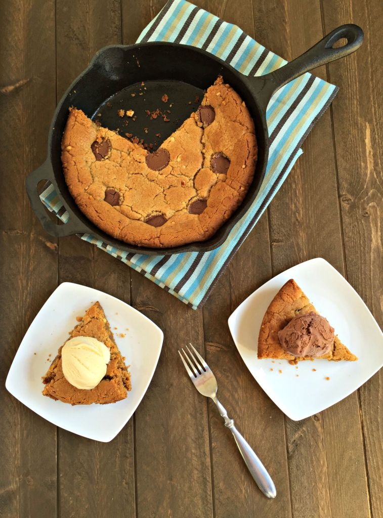 Peanut Butter Cookie Skillet + A Family-Owned Dairy Tour