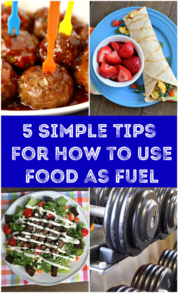 how to use food as fuel