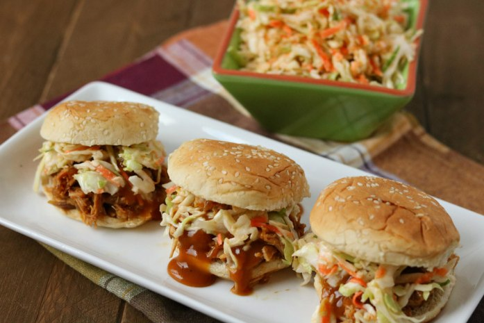 honey mustard pulled pork sliders
