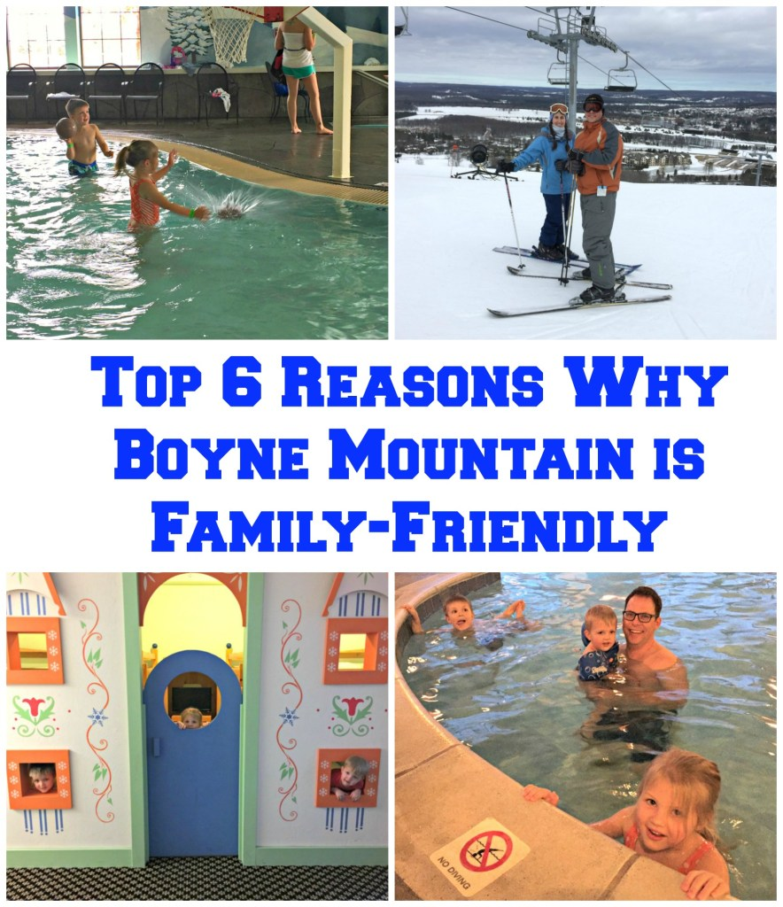 Top 6 Reasons Why Boyne Mountain is Family-Friendly