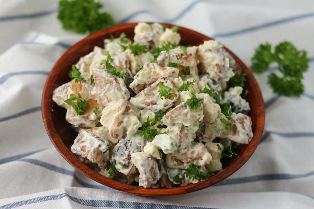 Healthy Greek Yogurt Potato Salad