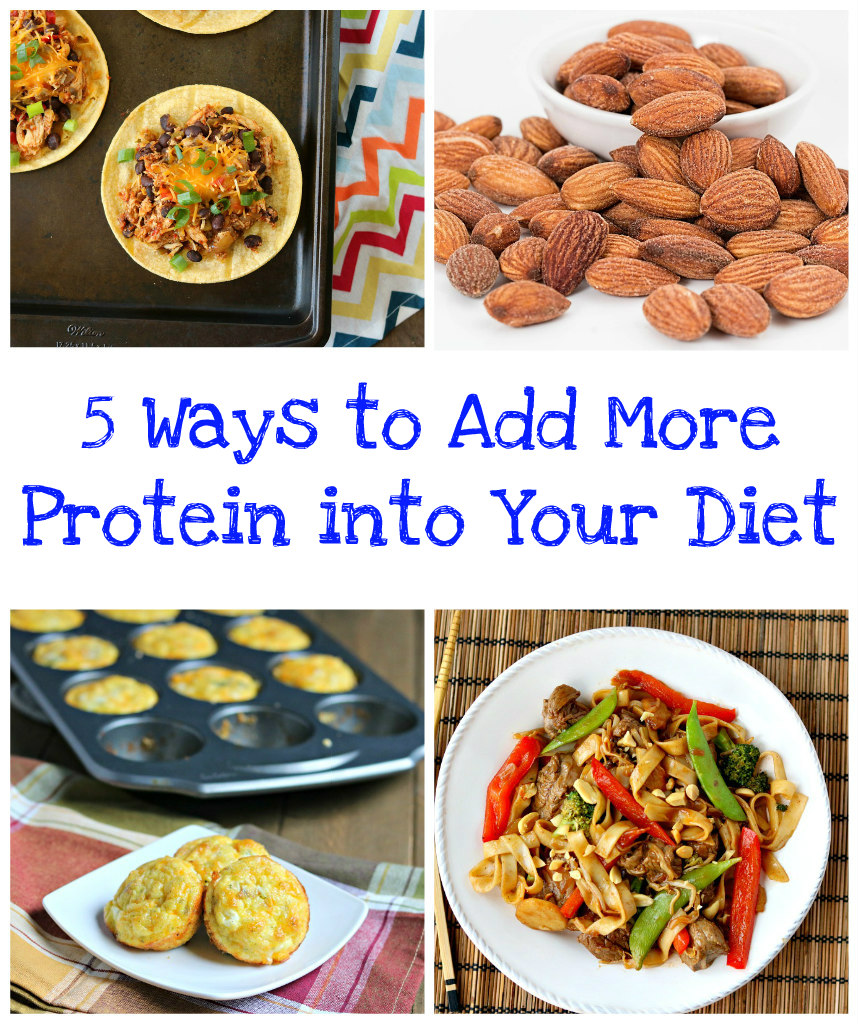 5 Ways to Add More Protein into Your Diet