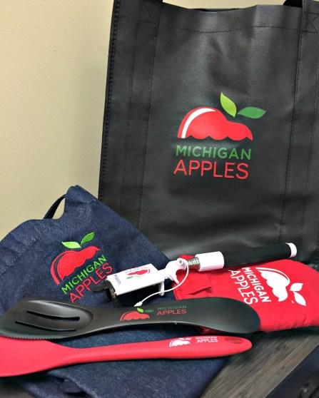 Michigan Apple giveway prizes