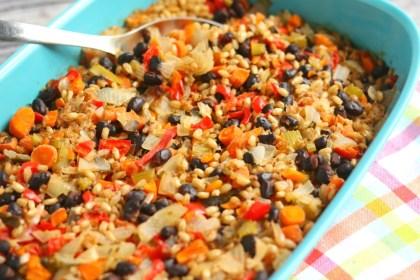 bulgur-barley-vegetable-casserole-vegan