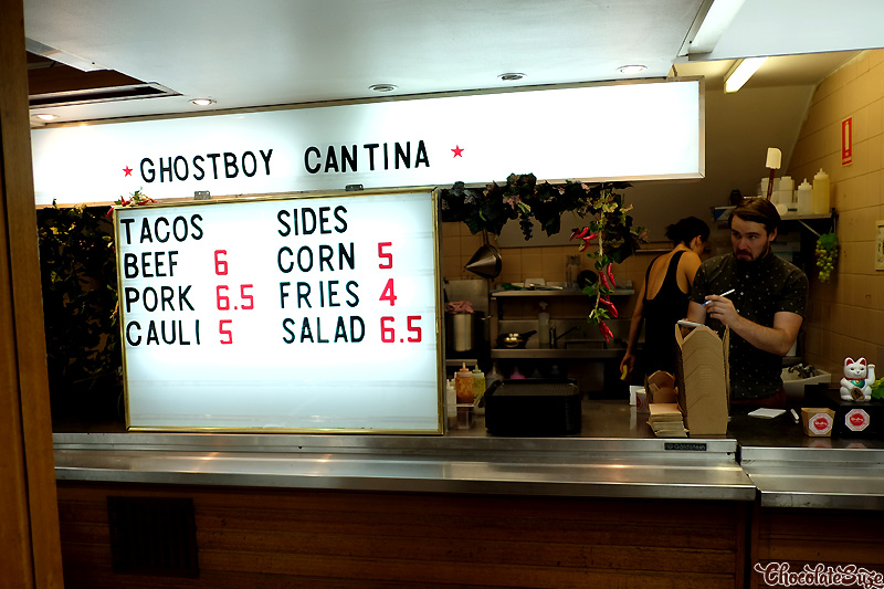 Ghostboy Cantina, Chinatown, Sydney