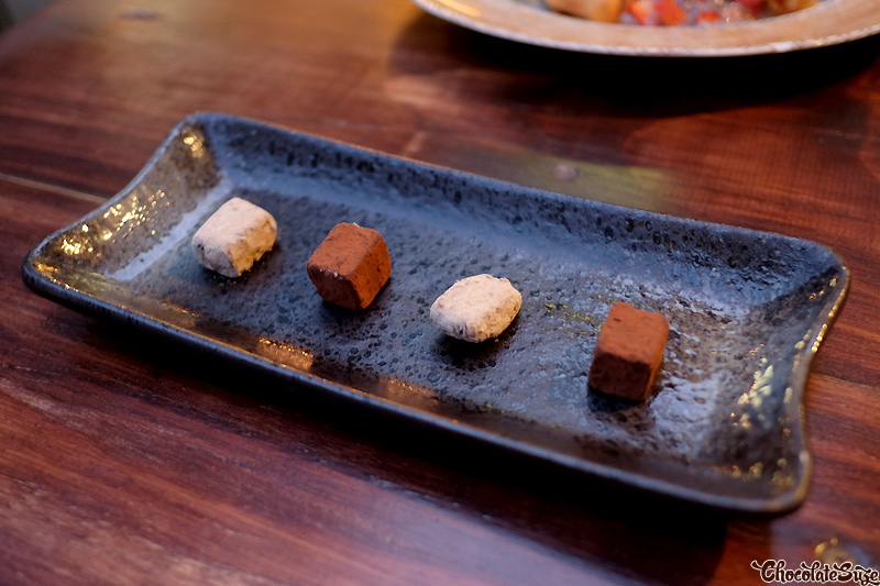 Kakawa chocolates at Kim Restaurant, Potts Point