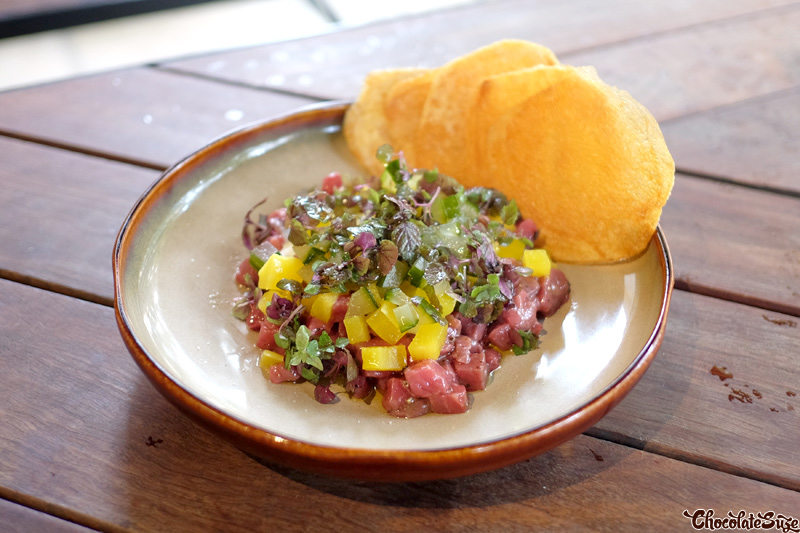 Steak Tartare at Dead Ringer, Surry Hills