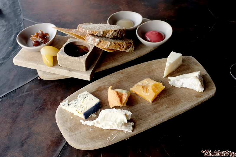 Cheeses at Vue de monde, Melbourne