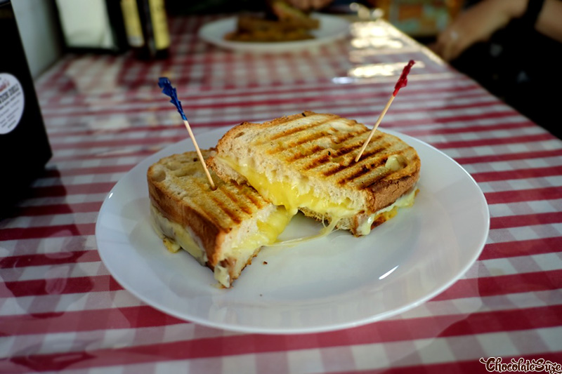 4 Cheese Toasted at Satriale's Sandwich Deli, Kensington