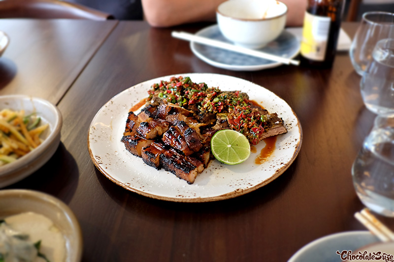 Pork at Yan Restaurant, Wolli Creek