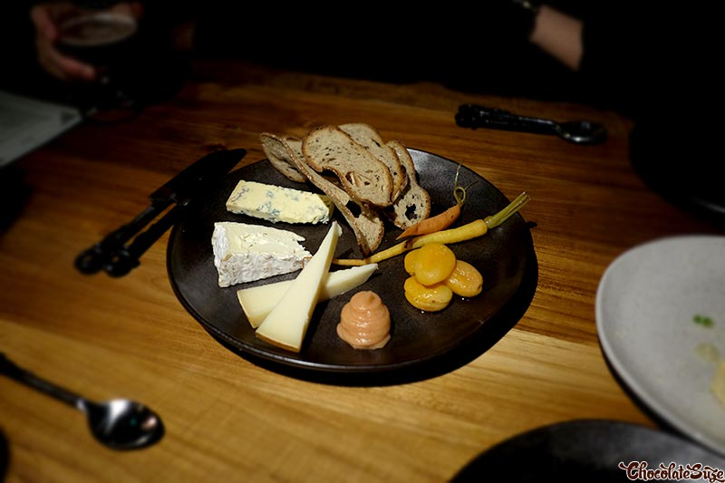 Cheese platter at Mjolner, Redfern