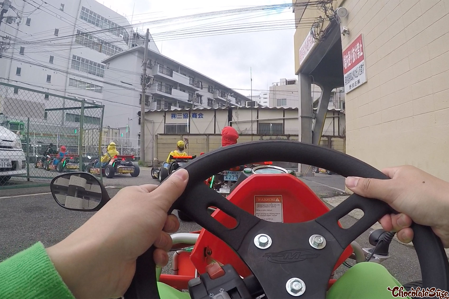 Driving Mario Kart with MariCar Osala