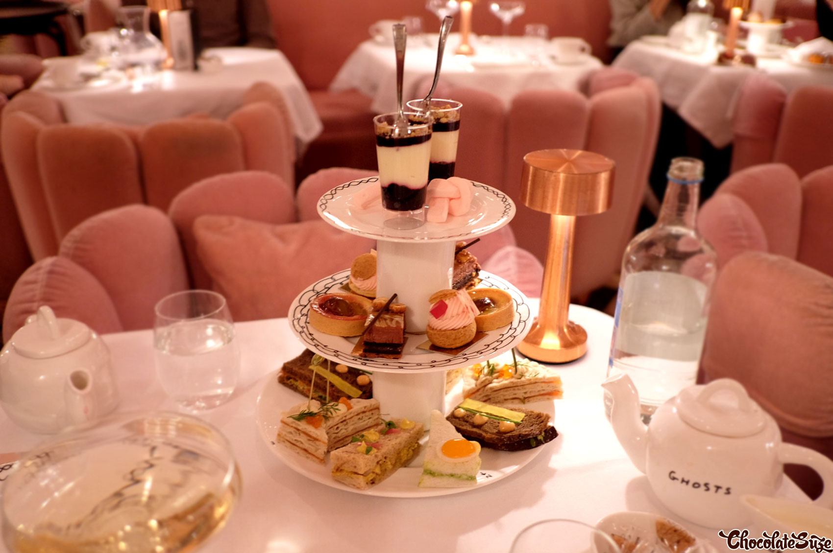 High Tea at Sketch, London