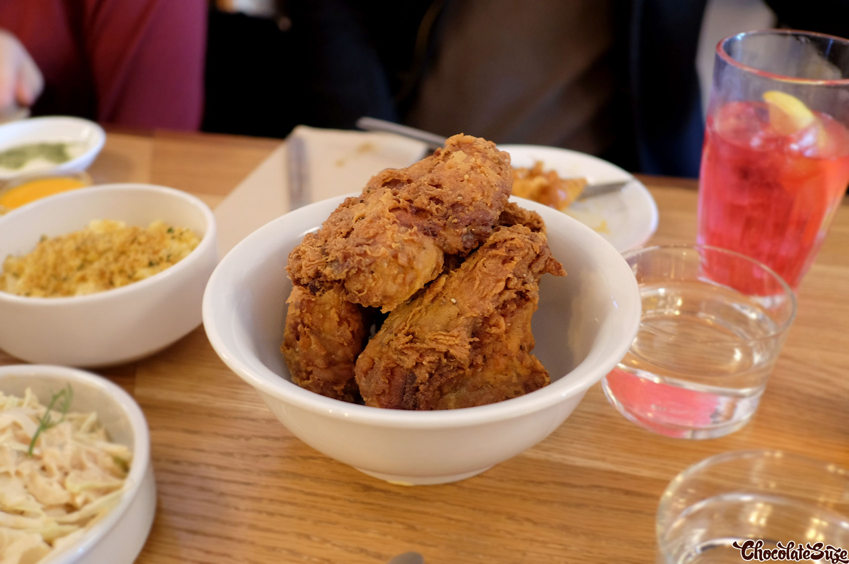 Fried chicken at Wishbone, Enmore