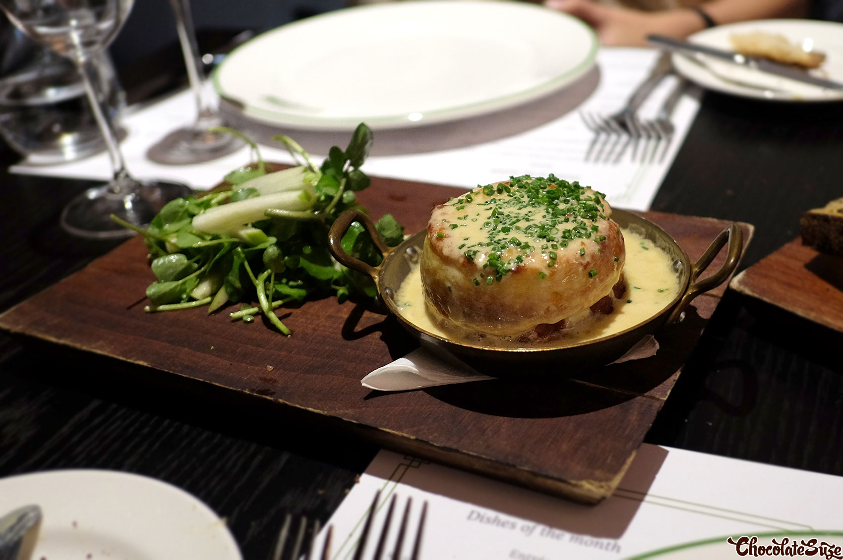 Souffle at Bistro Guillaume, Sydney